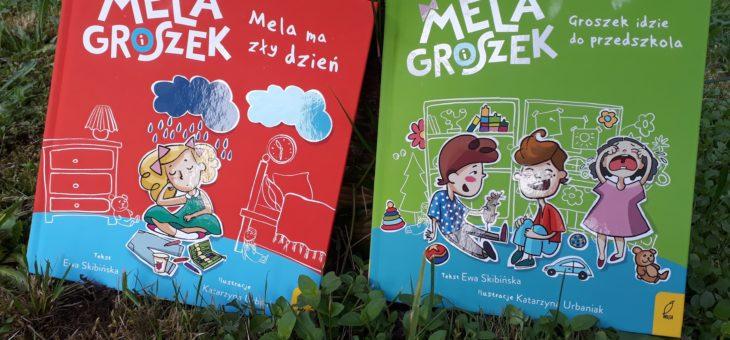 Mela i Groszek – seria książeczek o tym, jak fajnie być przedszkolakiem – recenzja.