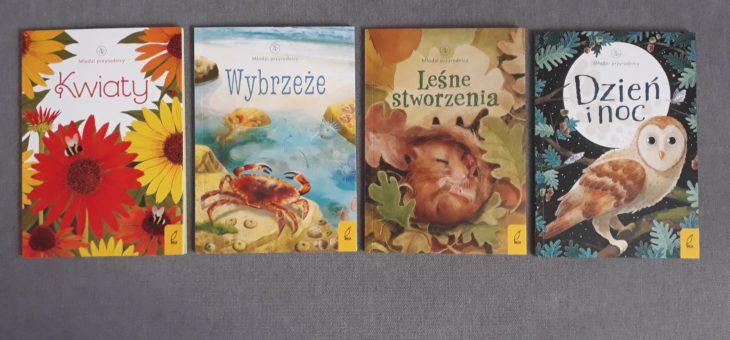 Młodzi przyrodnicy – seria edukacyjnych książeczek dla dzieci – recenzja.