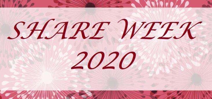 Share Week 2020 – moje głosy.