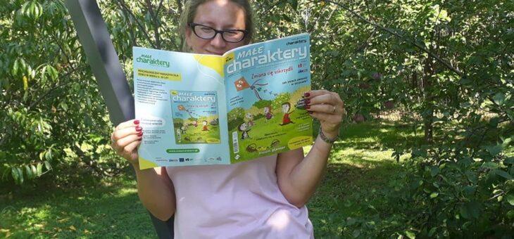 Małe charaktery – psychologiczny magazyn dla dzieci. Recenzja.